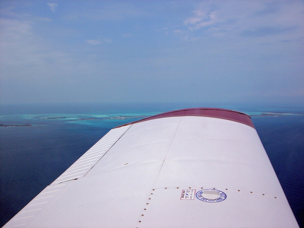 Family Flying: Staniel Cay, Bahamas - The Flight Home