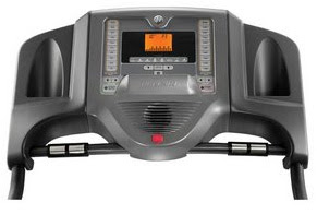 Horizon T81 Treadmill Console