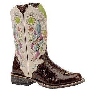 Wedding Ariat Women S Rodeobaby Rocker Boot