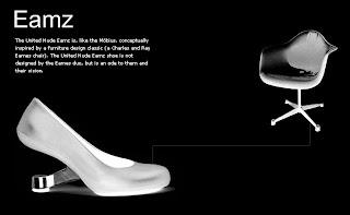 De pe un picior pe altul – United Nude shoes