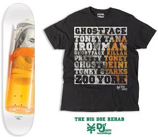 Zoo York X Ghostface Killah – tricouri si placi de skate