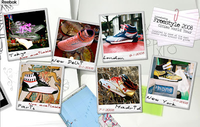 Reebok Freestyle 2008 – Cities World Tour