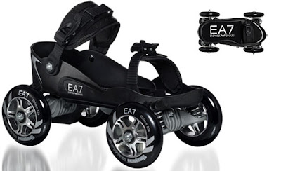 EA7 X Skorpion Quadline Roller-Skates, or so they say