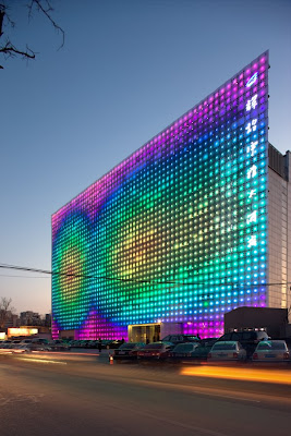 GreenPix –  Zero Energy Media Wall BEIJING CN