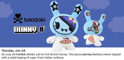 Kidrobot Dunny – Tokidoki & Titan Touma