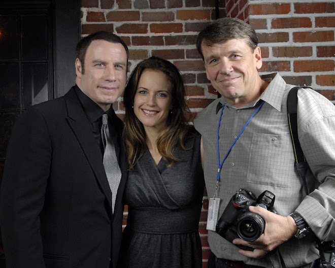 John Travolta, Kelly Preston, Me.