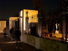 Puesta en Valor de luminaria ingreso Principal Cementerio de San Vicente - Godoy Cruz