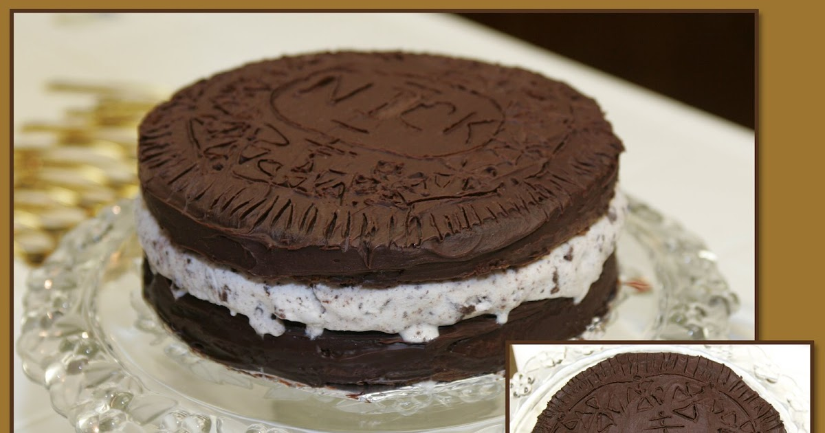 Pictures Of A Cookie Cake