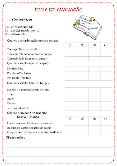 Fichas de Avaliação pág 3