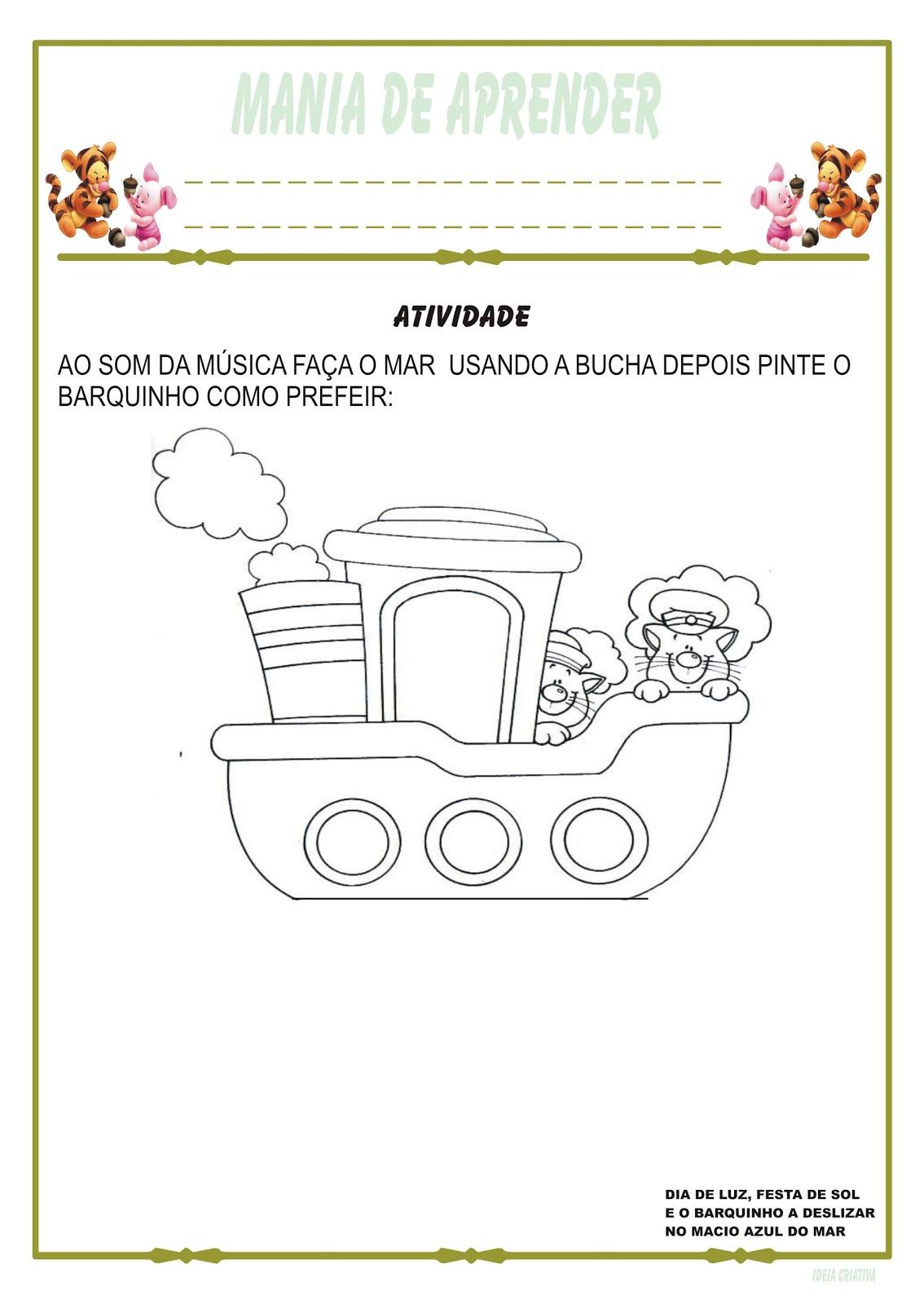 Atividades Meios De Transporte Ideia Criativa Educacao Infantil