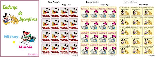 Caderno de Incentivos Mickey
