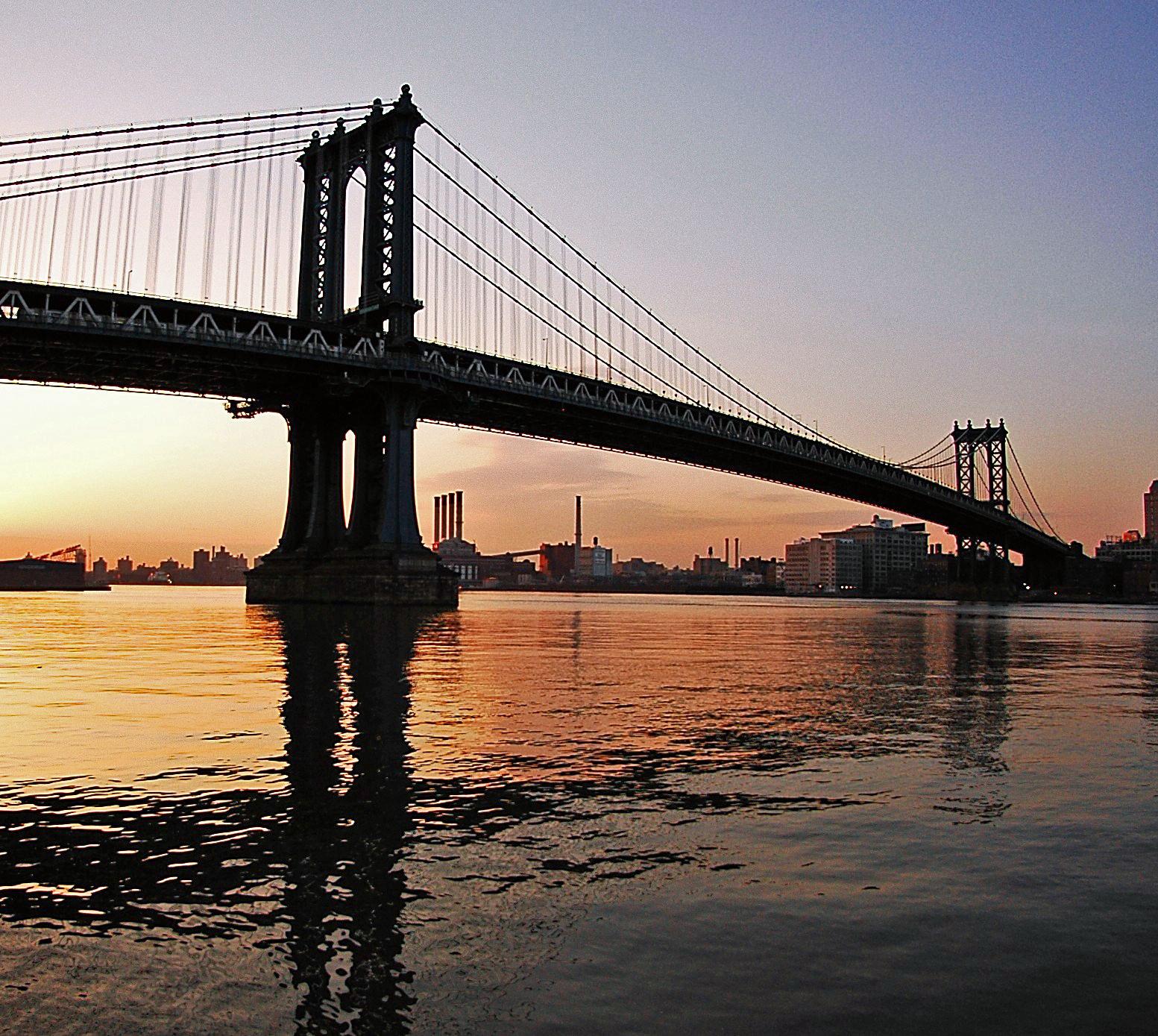 Manhattan New: Life's Lessons: The Manhattan Bridge, New York