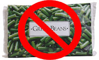no frozen green beans