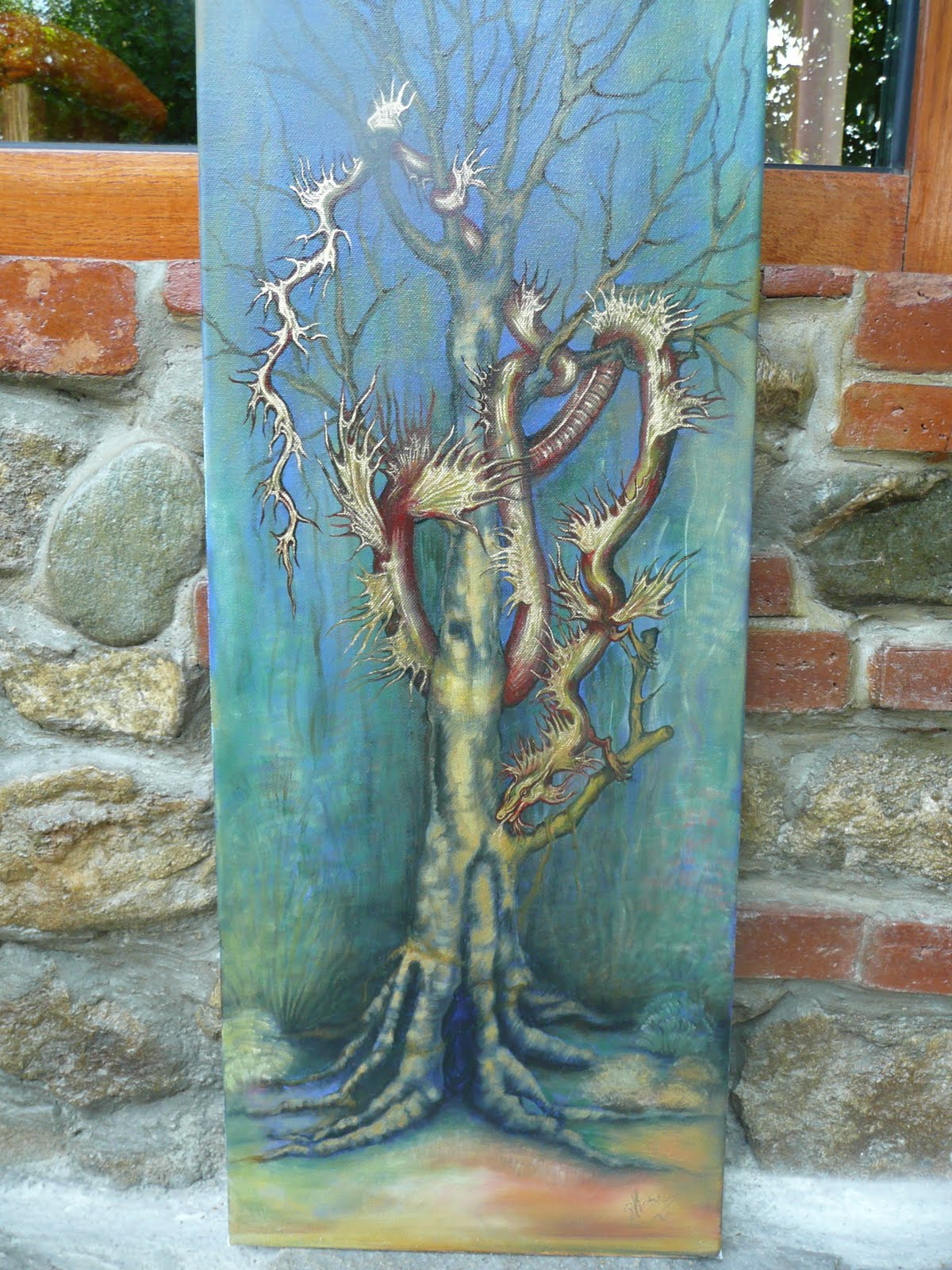 Dragon Painting - Oil / Canvas | Oil Painting Gallery