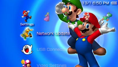 Game PSP Theme