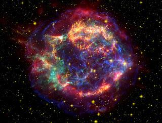 Nasa image of Cas A