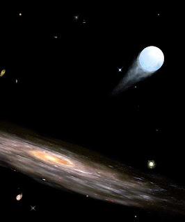 Image of a hypervelocity star