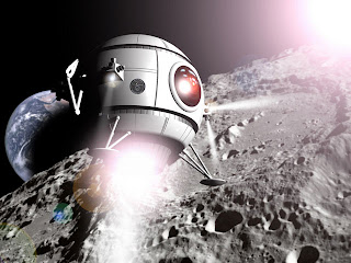 The Odyssey Moon lander