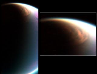 Cloud over Titan