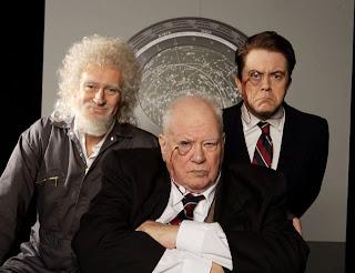 Brian, Sir Patrick and Jon