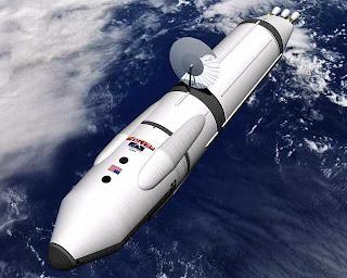 Nasa image of a Mars ship