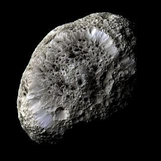Cassini image of Hyperion
