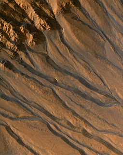 Water-carved gullies from Mars Reconnaissance Orbiter