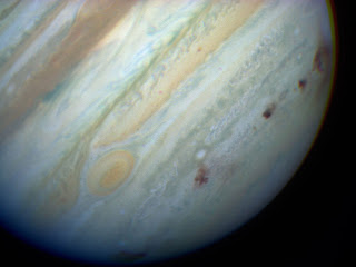 Scars on Jupiter left by the Shoemaker-Levy 9 impact