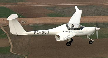 Avión propulsado a hidrógeno