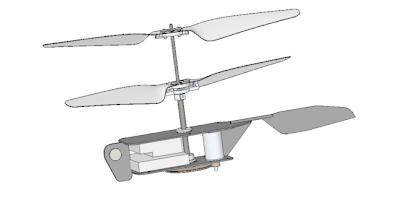 Helicóptero R/C Black Hornet