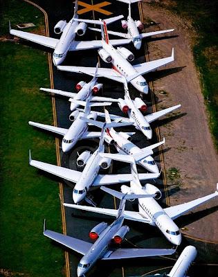 Embotellamiento aéreo