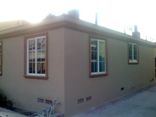 THB Construction: EXTERIOR FINISH, CROWN MOLDING & WINDOW TRIM