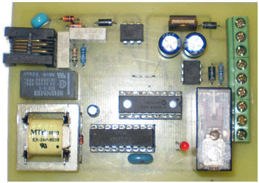 Phone Line controller PIC 16F84A