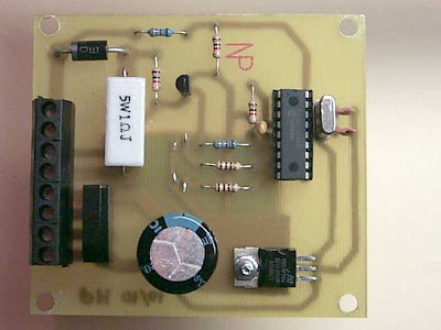 NiCd/NiMH Battery Charger - Microcontroller Project
