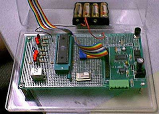 Universal remote using microcontroller AVR AT90S8535