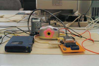 The zip Drive and Digital Camera using ATmega8535