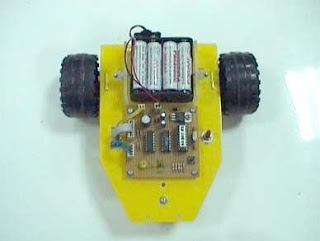 Line Follower ROBOT Using Microcontroller AT89S2501