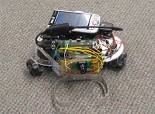 Search Bot based on microcontroller