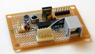 AVR Infrared Link Project