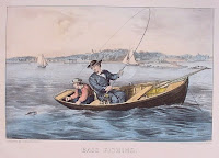 row boat lithograph
