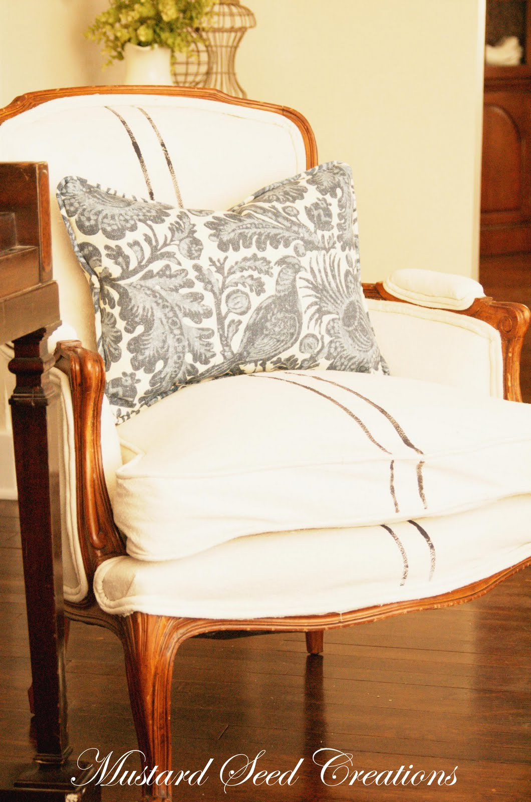 Magnificent More On Drop Cloths Miss Mustard Seed Evergreenethics Interior Chair Design Evergreenethicsorg