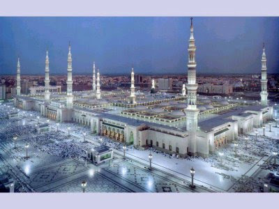 Design Exterior al-Nabawi Mosque in Madinah