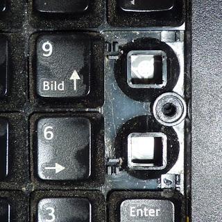 tasten tastatur entfernen