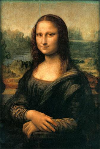 نقاش لبخند مونالیزا