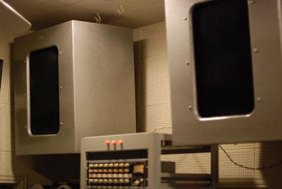 Studio Speakers in the Norman Petty Recording Studios, Clovis, New Mexico