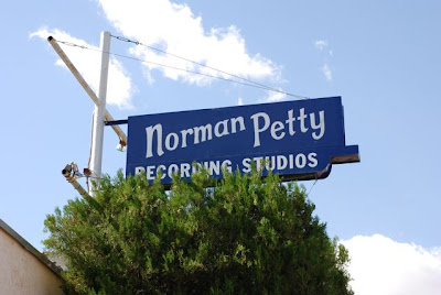 Norman Petty Recording Studios Sign