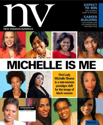 NV Magazine Cover - Michelle is Me
