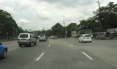 Quezon Memorial Circle road