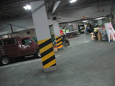 basement of Shoppersville supermarket