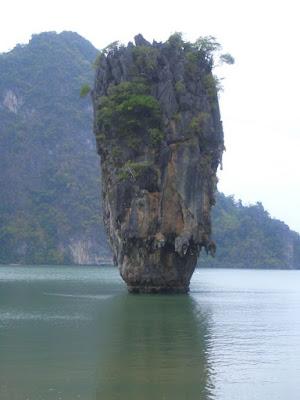 James Bond Island in Phang Nga Bay Thailand